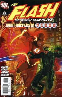 Cover Thumbnail for Flash: The Fastest Man Alive (DC, 2006 series) #8