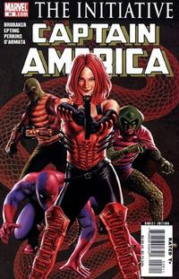 Cover Thumbnail for Captain America (Marvel, 2005 series) #28 [Direct Edition]