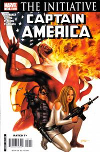 Cover for Captain America (Marvel, 2005 series) #29 [Direct Edition]