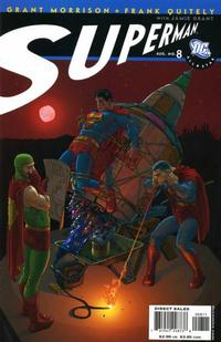 Cover Thumbnail for All Star Superman (DC, 2006 series) #8