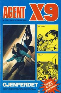 Cover Thumbnail for Agent X9 (Semic, 1976 series) #1/1977