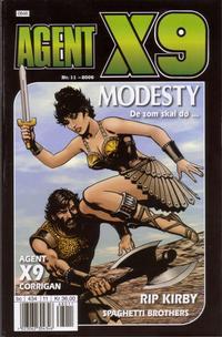 Cover Thumbnail for Agent X9 (Hjemmet / Egmont, 1998 series) #11/2006