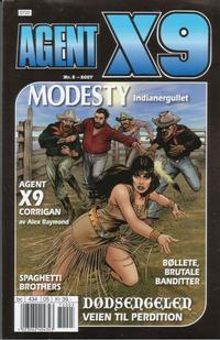 Cover Thumbnail for Agent X9 (Hjemmet / Egmont, 1998 series) #5/2007