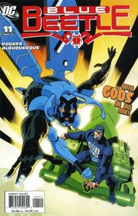 Cover Thumbnail for The Blue Beetle (DC, 2006 series) #11
