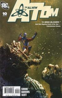 Cover Thumbnail for The All New Atom (DC, 2006 series) #10