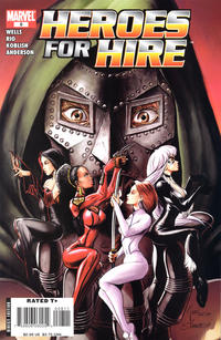 Cover Thumbnail for Heroes for Hire (Marvel, 2006 series) #8