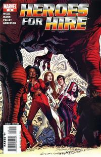 Cover Thumbnail for Heroes for Hire (Marvel, 2006 series) #9