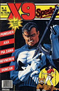 Cover Thumbnail for X9 Spesial (Semic, 1990 series) #3/1990