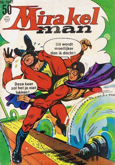 Cover for Mirakelman (Classics/Williams, 1965 series) #1501