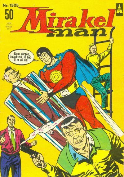 Cover for Mirakelman (Classics/Williams, 1965 series) #1505