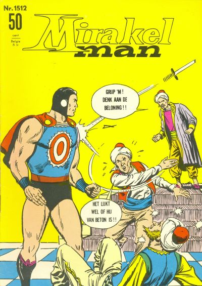 Cover for Mirakelman (Classics/Williams, 1965 series) #1512