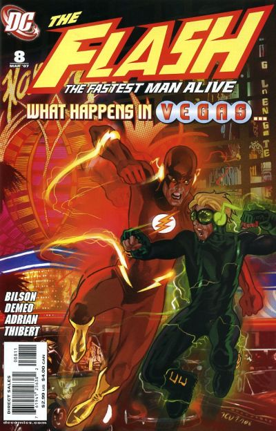 Cover for Flash: The Fastest Man Alive (DC, 2006 series) #8