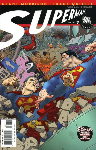 Cover for All Star Superman (DC, 2006 series) #7