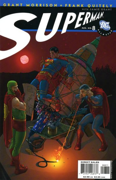 Cover for All Star Superman (DC, 2006 series) #8