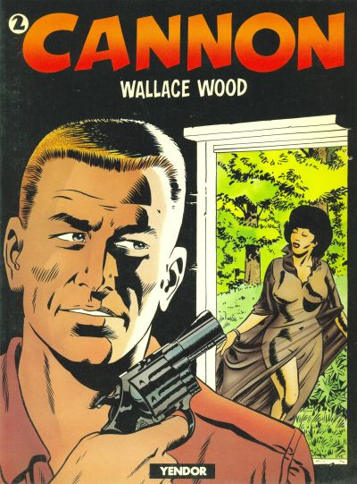 Cover for Cannon (Yendor, 1981 series) #2