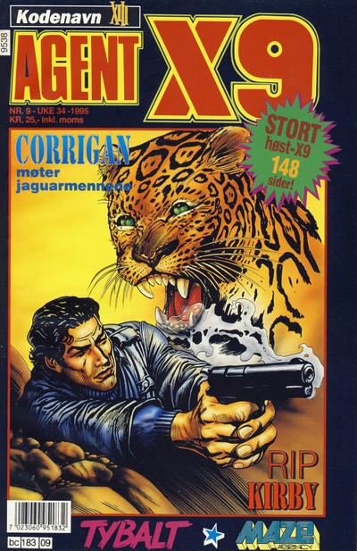 Cover for Agent X9 (Semic, 1976 series) #9/1995
