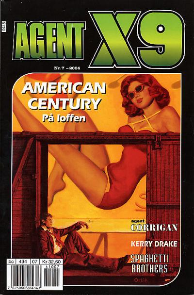 Cover for Agent X9 (Hjemmet / Egmont, 1998 series) #7/2004