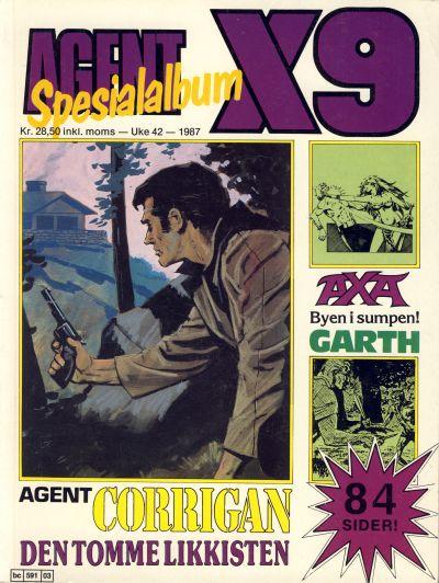 Cover for Agent X9 Spesialalbum (Semic, 1985 series) #[3]