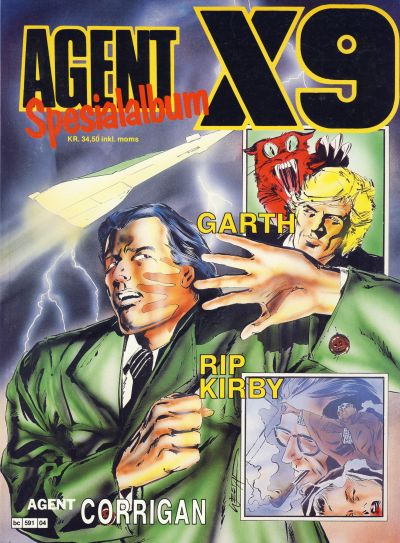 Cover for Agent X9 Spesialalbum (Semic, 1985 series) #4