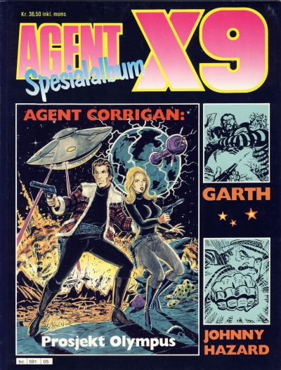 Cover for Agent X9 Spesialalbum (Semic, 1985 series) #5