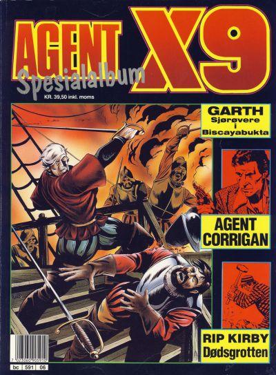 Cover for Agent X9 Spesialalbum (Semic, 1985 series) #6