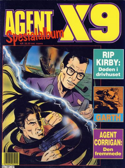 Cover for Agent X9 Spesialalbum (Semic, 1985 series) #7