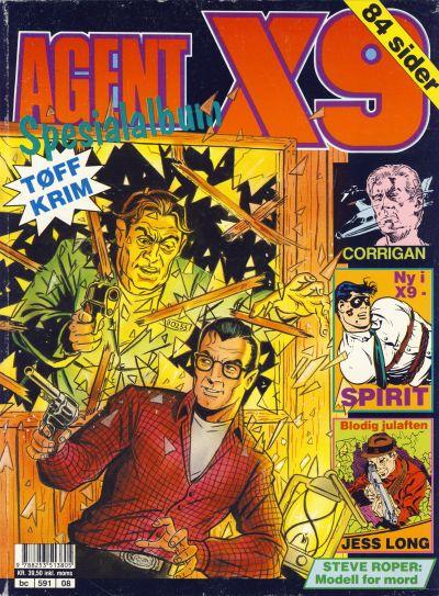Cover for Agent X9 Spesialalbum (Semic, 1985 series) #8