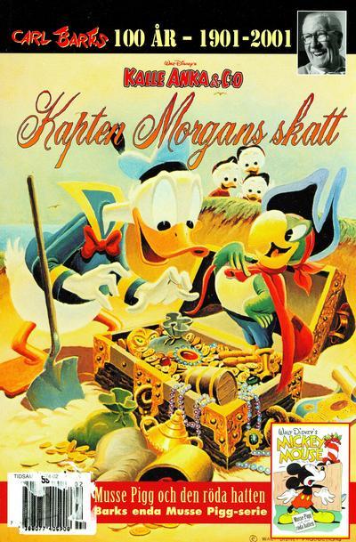 Cover for Äntligen tillbaka! (Egmont, 2000 series) #[4] - Kapten Morgans skatt