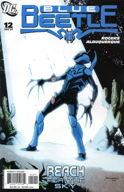 Cover for The Blue Beetle (DC, 2006 series) #12