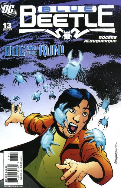 Cover for The Blue Beetle (DC, 2006 series) #13