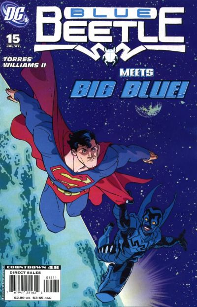 Cover for The Blue Beetle (DC, 2006 series) #15