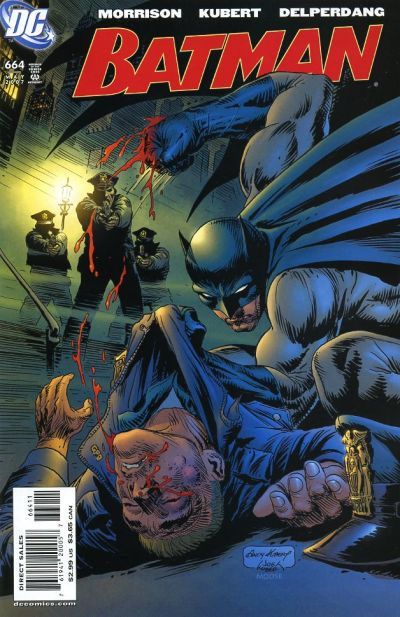 Cover for Batman (DC, 1940 series) #664