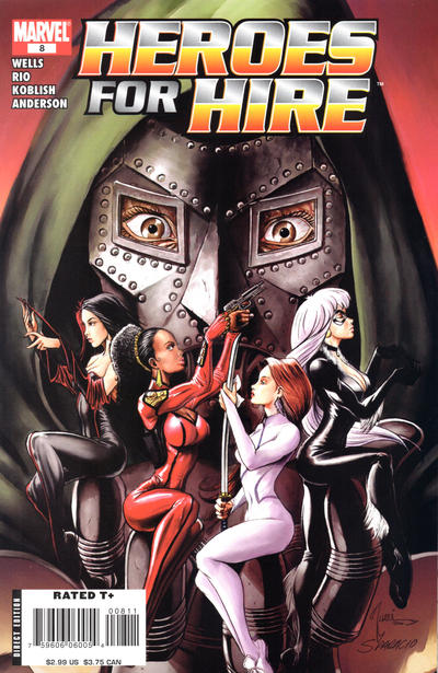 Cover for Heroes for Hire (Marvel, 2006 series) #8