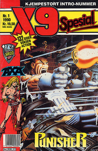 Cover for X9 Spesial (Semic, 1990 series) #1/1990