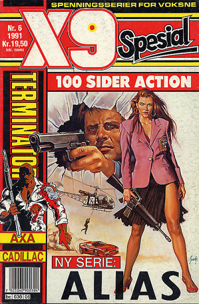 Cover for X9 Spesial (Semic, 1990 series) #6/1991