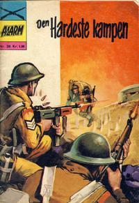 Cover Thumbnail for Alarm (Illustrerte Klassikere / Williams Forlag, 1964 series) #26