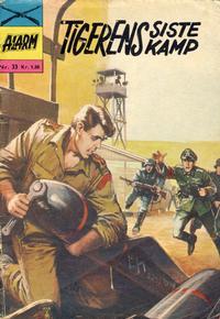 Cover Thumbnail for Alarm (Illustrerte Klassikere / Williams Forlag, 1964 series) #33