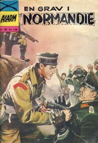 Cover Thumbnail for Alarm (Illustrerte Klassikere / Williams Forlag, 1964 series) #34