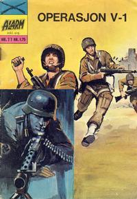 Cover Thumbnail for Alarm (Illustrerte Klassikere / Williams Forlag, 1964 series) #77