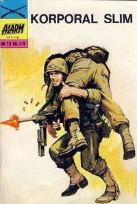 Cover Thumbnail for Alarm (Illustrerte Klassikere / Williams Forlag, 1964 series) #79