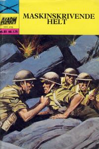 Cover Thumbnail for Alarm (Illustrerte Klassikere / Williams Forlag, 1964 series) #81