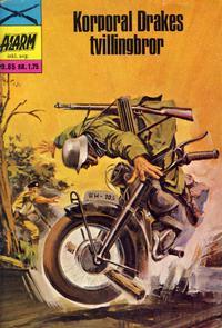 Cover Thumbnail for Alarm (Illustrerte Klassikere / Williams Forlag, 1964 series) #85