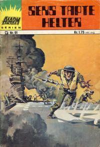 Cover Thumbnail for Alarm (Illustrerte Klassikere / Williams Forlag, 1964 series) #91