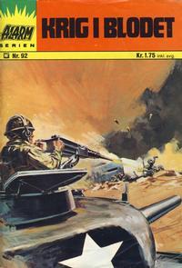 Cover Thumbnail for Alarm (Illustrerte Klassikere / Williams Forlag, 1964 series) #92