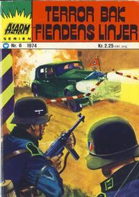 Cover Thumbnail for Alarm (Illustrerte Klassikere / Williams Forlag, 1964 series) #6/1974