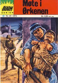 Cover Thumbnail for Alarm (Illustrerte Klassikere / Williams Forlag, 1964 series) #10/1974
