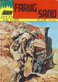 Cover Thumbnail for Alarm (Illustrerte Klassikere / Williams Forlag, 1964 series) #11/1974