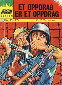 Cover Thumbnail for Alarm (Illustrerte Klassikere / Williams Forlag, 1964 series) #12/1974