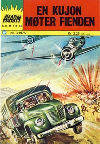 Cover Thumbnail for Alarm (Illustrerte Klassikere / Williams Forlag, 1964 series) #3/1975