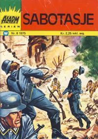 Cover Thumbnail for Alarm (Illustrerte Klassikere / Williams Forlag, 1964 series) #8/1975